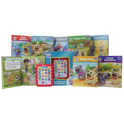 Pi Kids Puppy Dog Pals Electronic Me Reader 8-Book Library Boxed Set