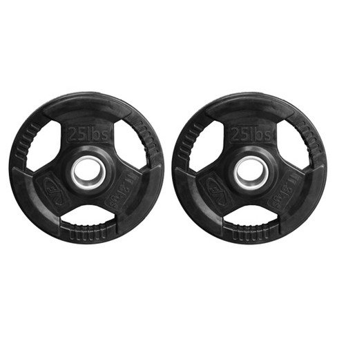 Valor Fitness OP-25 25lb Olympic Plates - 2pk - image 1 of 1