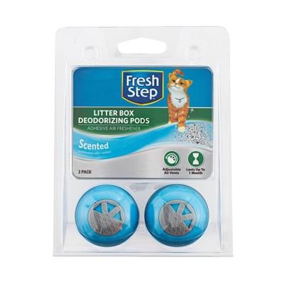 Fresh Step Cat Litter Box Deodorizing Pods - 4pk