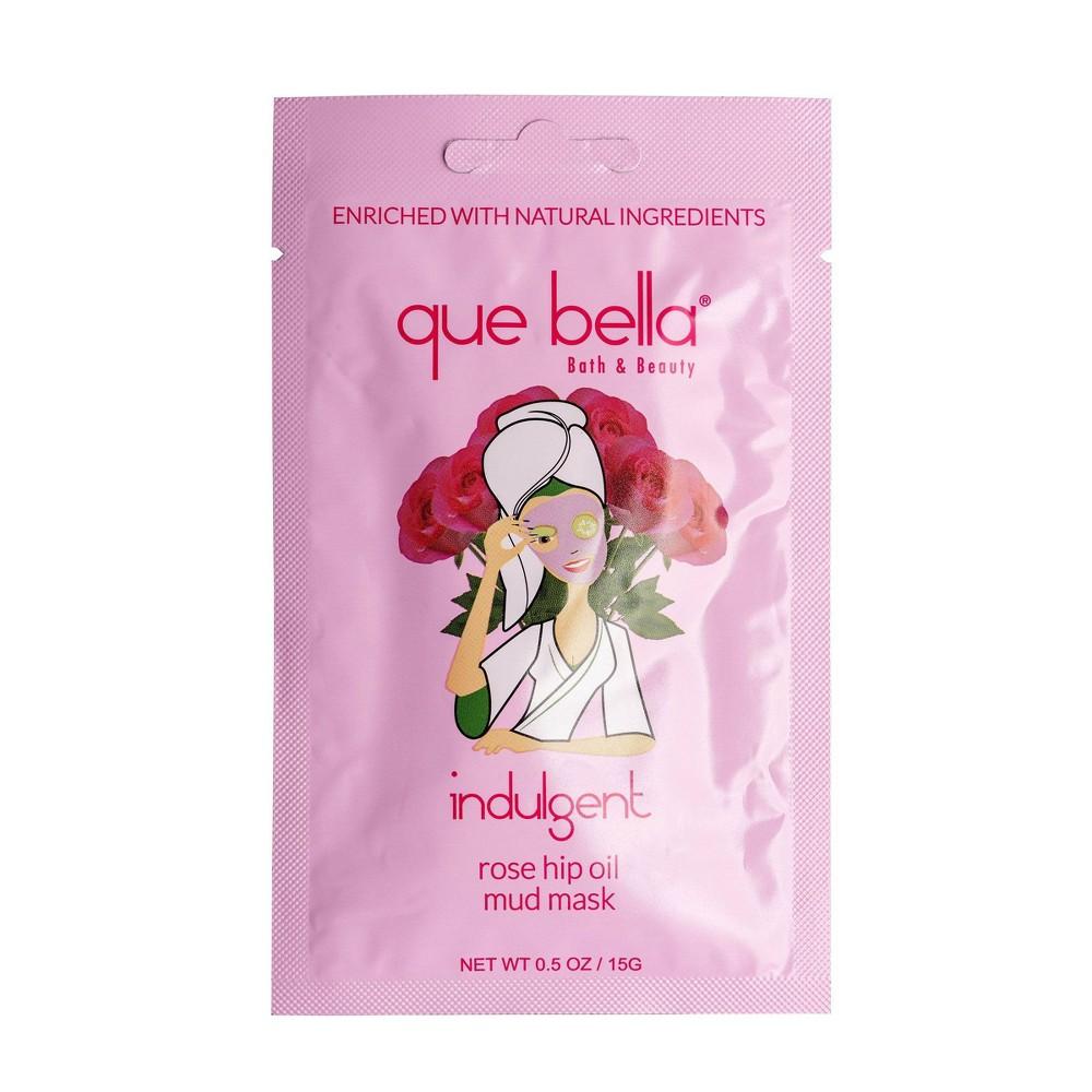 Image of Que Bella Indulgent Rose Hip Oil Mud Face Mask - 0.5oz