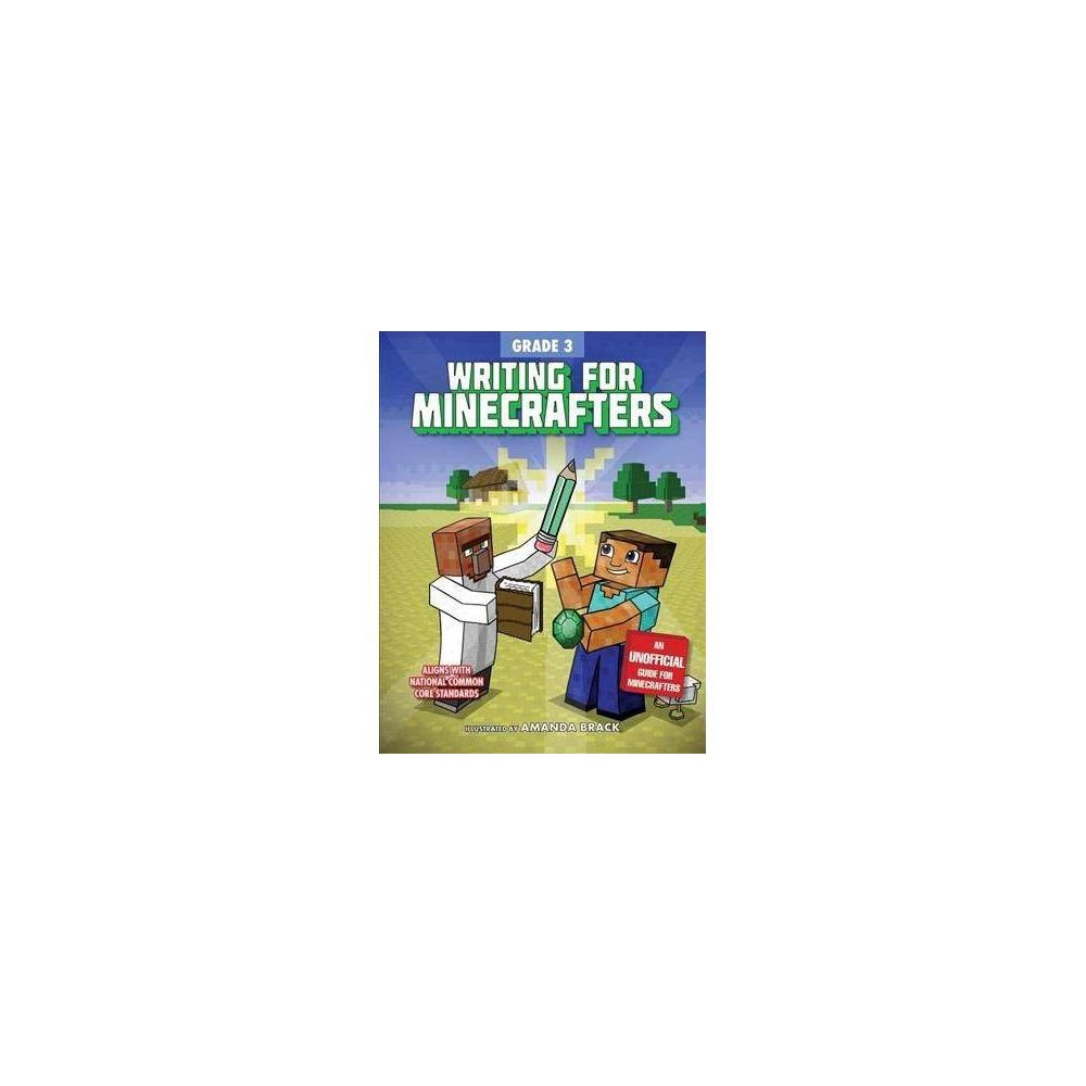 Writing for Minecrafters - (Paperback)