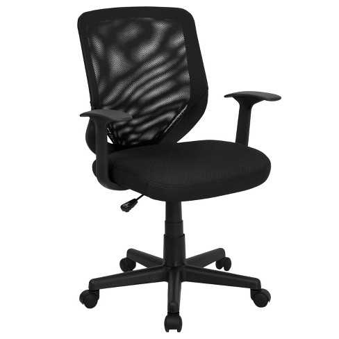 Riverstone Furniture Collection Mid Back Task Chair Black - image 1 of 4