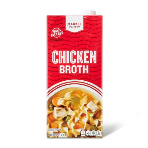 Chicken Broth 32 oz - Market Pantry™ - image 1 of 1