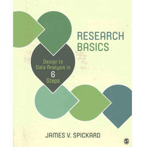 Research Basics : Design to Data Analysis in Six Steps (Paperback) (James V. Spickard) - image 1 of 1
