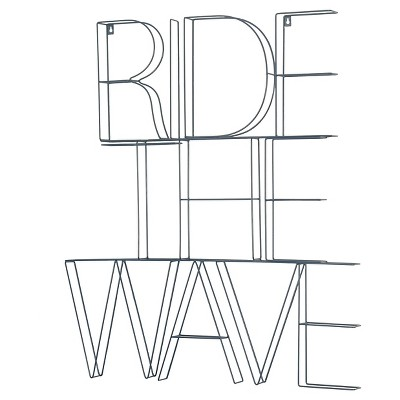 Ride The Wave Wire Wall Décor (28 x35 )Blue - Pillowfort™