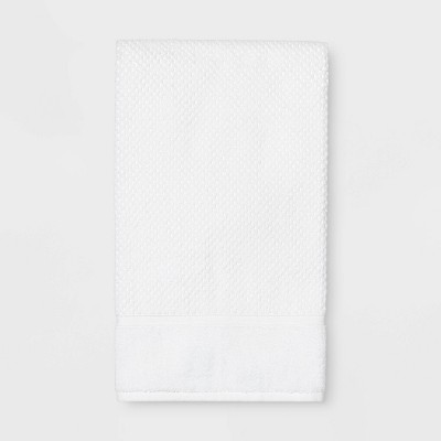 Performance Texture Bath Towel White - Threshold™
