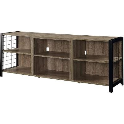 Dimplex Asher TV Stand in Tudor Oak - DM23-1905TU