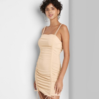 Women's Double Ruched Bodycon Dress - Wild Fable™