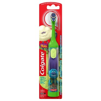 Colgate Kids Battery Powered Toothbrush Trolls Branch Extra Soft - 1ct