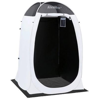 4' x 4' x 7' Pop-up Portable Outdoor Shower Tent - Alvantor