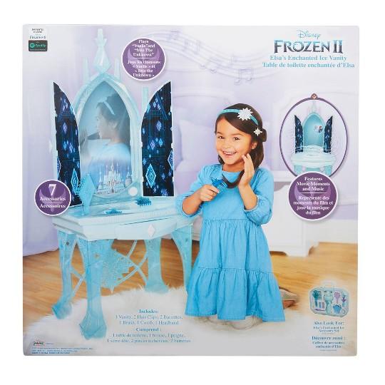Disney Frozen 2 Elsa's Enchanted Ice Vanity image number null