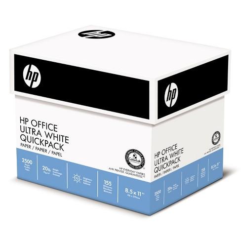 HP Office Ultra-White Paper 92 Bright 20lb 8-1/2 x 11 500/Ream 5/Carton 112103 - image 1 of 1