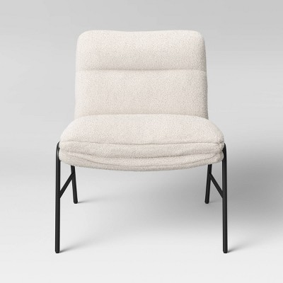 Pohle Armless Accent Chair with Metal Legs - Project 62™