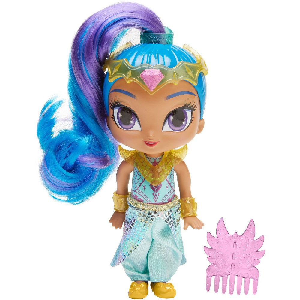 Fisher-Price Shimmer and Shine Dragon Rider Shine Doll