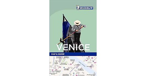 Michelin Map & Guide Venice (Paperback) - image 1 of 1