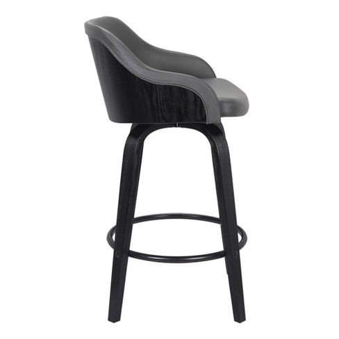 "26"" Alec Counter Height Swivel Barstool - Armen Living - image 1 of 4"