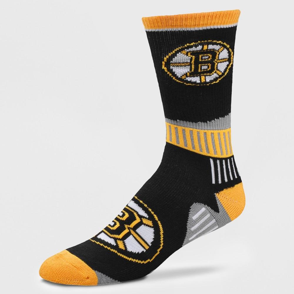 NHL Boston Bruins Sport Big Crew Sock, Size: Large