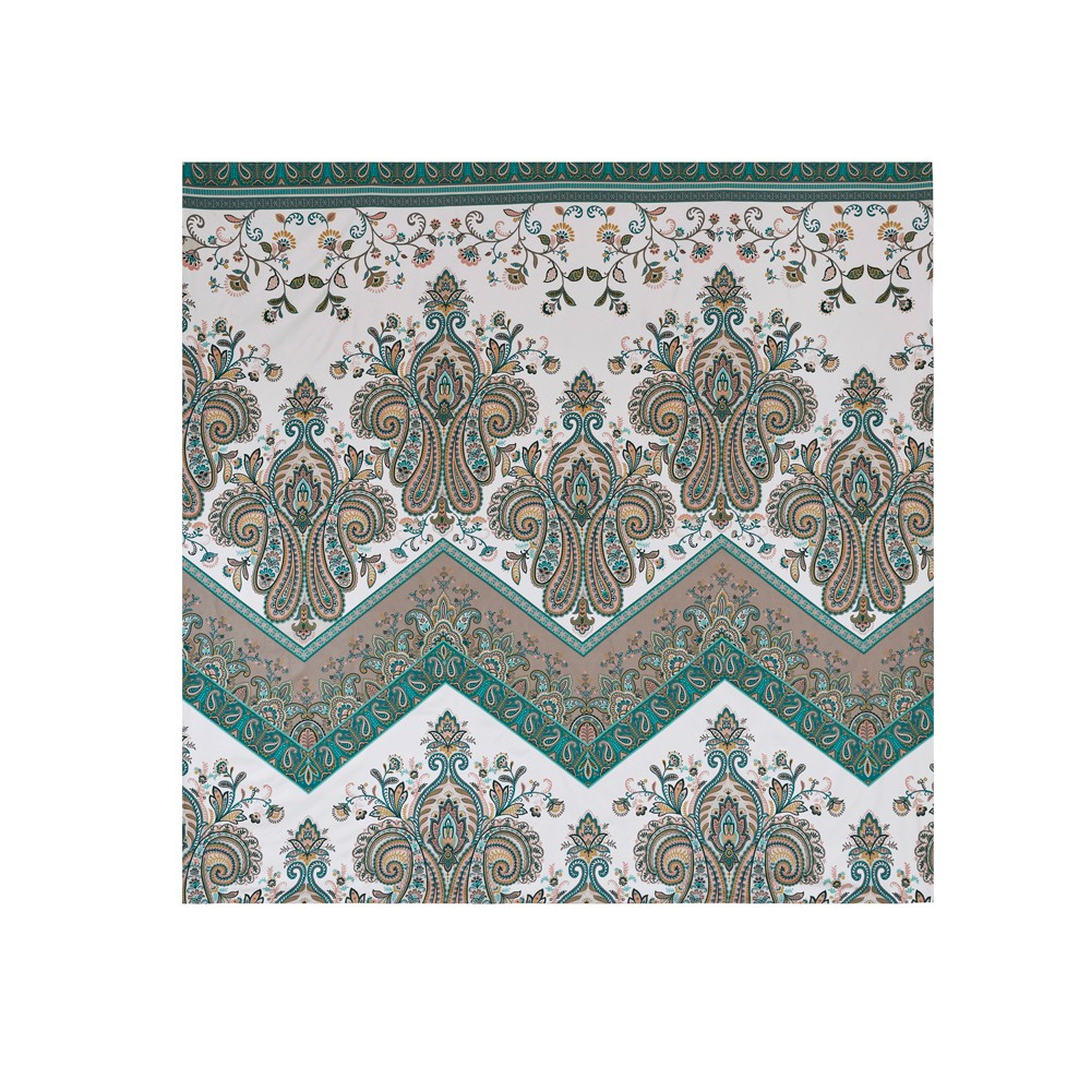 Teal (Blue) Allura Printed Wall Tapestry (90x90)