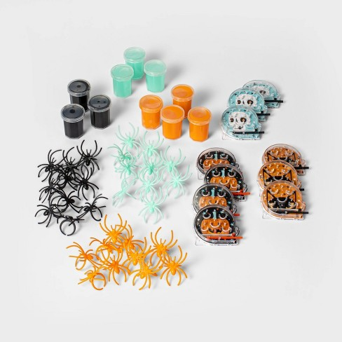 50ct Bulk Pack (Rings/Puzzles/Slime) Halloween Party Favors - Hyde & EEK! Boutique™ - image 1 of 1