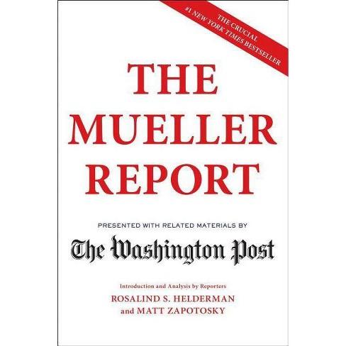 Mueller Report -  (Paperback) - image 1 of 1