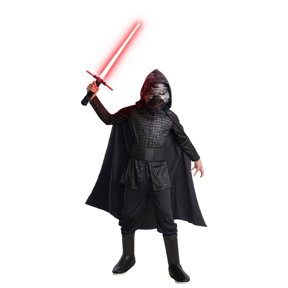Image of Halloween Boys' Star Wars Episode IX Kylo Ren Costume L, Boy's, Size: Large, MultiColored