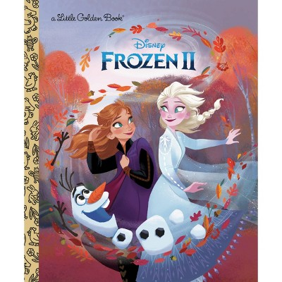 Frozen 2 Little Golden Book By Nancy Cote (Hardcover)
