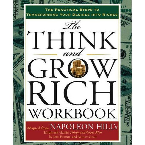 The Think and Grow Rich Workbook - by  Napoleon Hill (Spiral_bound) - image 1 of 1