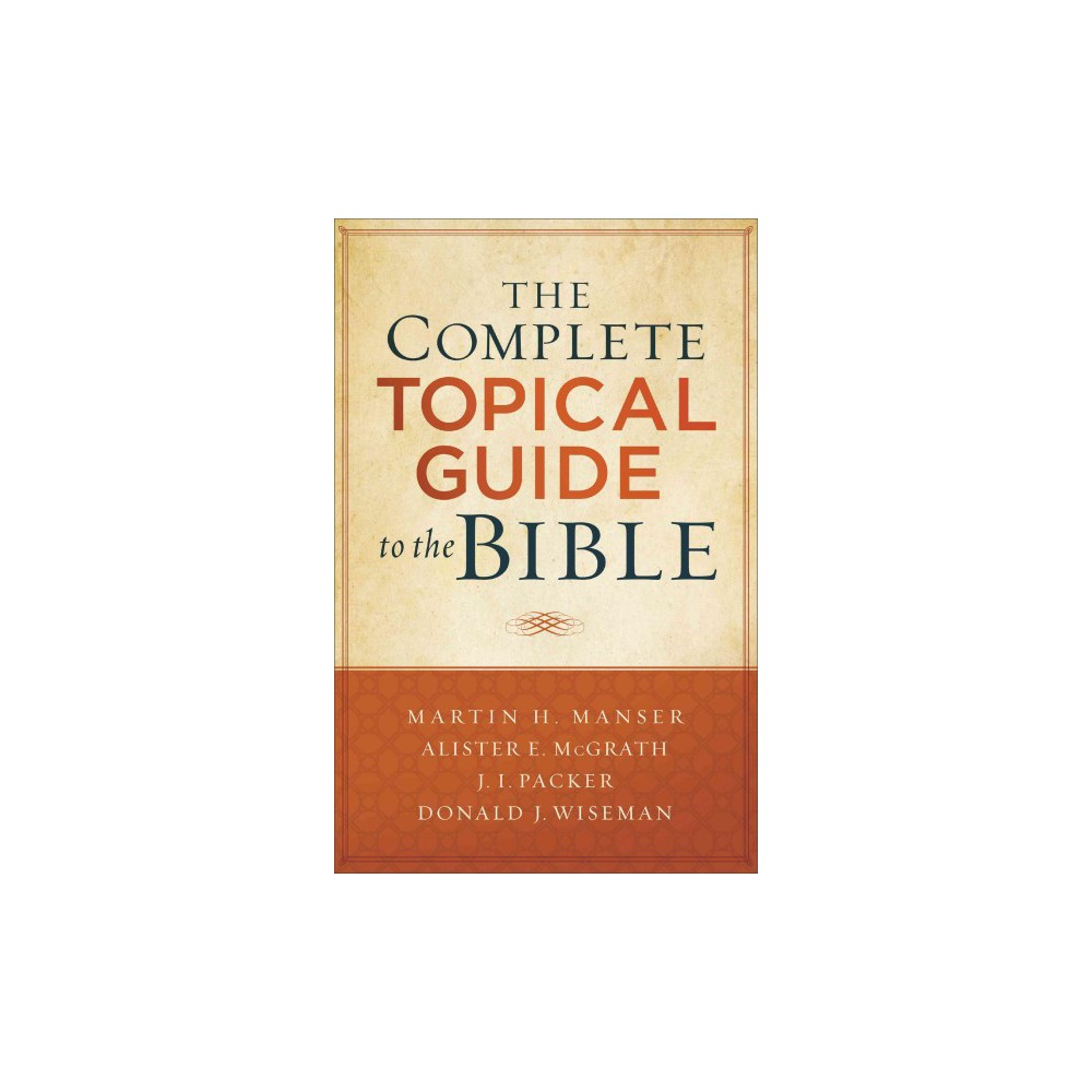 Complete Topical Guide to the Bible (Paperback)
