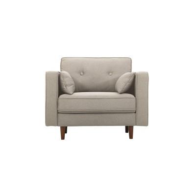 Superb Tatiana Mid Century Modern Armchair Lifestyle Solutions Machost Co Dining Chair Design Ideas Machostcouk