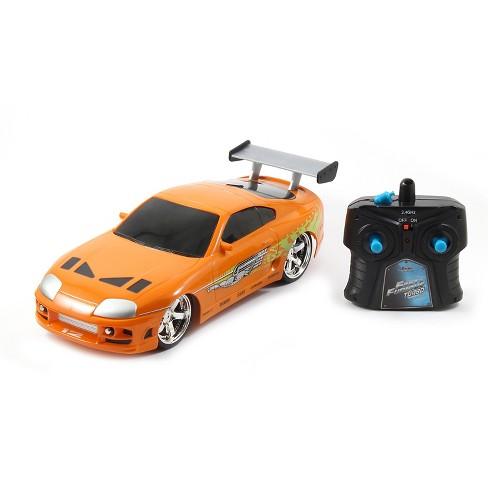 Jada Toys Fast & Furious RC 1995 Toyota Supra Remote Control Vehicle 1:16 Scale Metallic Orange - image 1 of 4