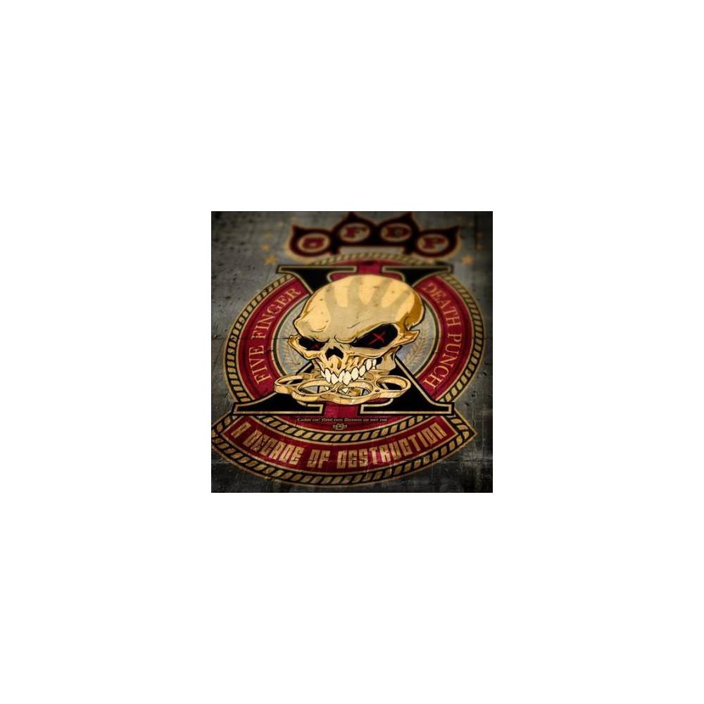 Five Finger Death Pu - Decade Of Destruction (CD)