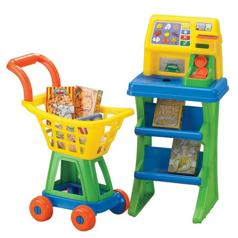 American Plastic Toys My Very Own Shop and Play Market Set - image 1 of 3