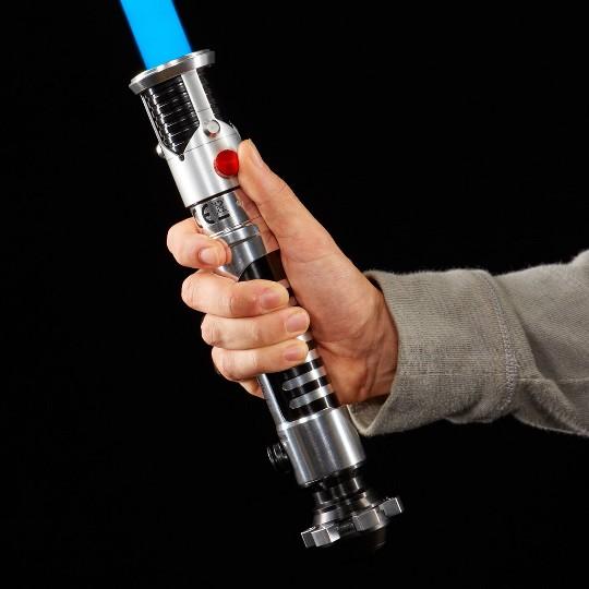 Star Wars The Black Series Obi-Wan Kenobi Ep1 Force FX Lightsaber image number null