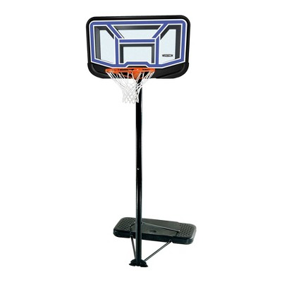 "Lifetime Stream Line 44"" Portable Basketball Hoop"