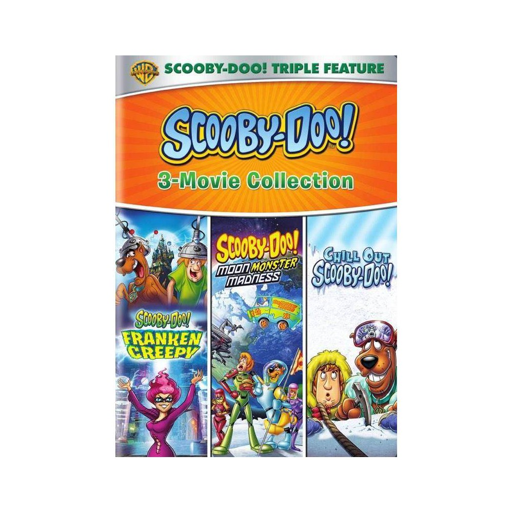 Scooby Doo Frankencreepy Scooby Doo Moon Monster Madness Chill Out Scooby Doo Dvd 2016