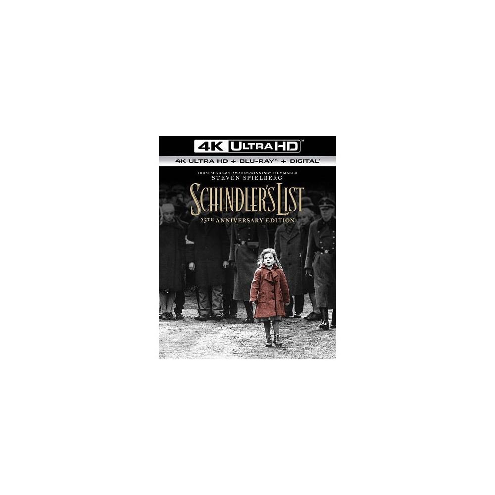 Schindler's List (25th Anniversary Ed (4K/Uhd)