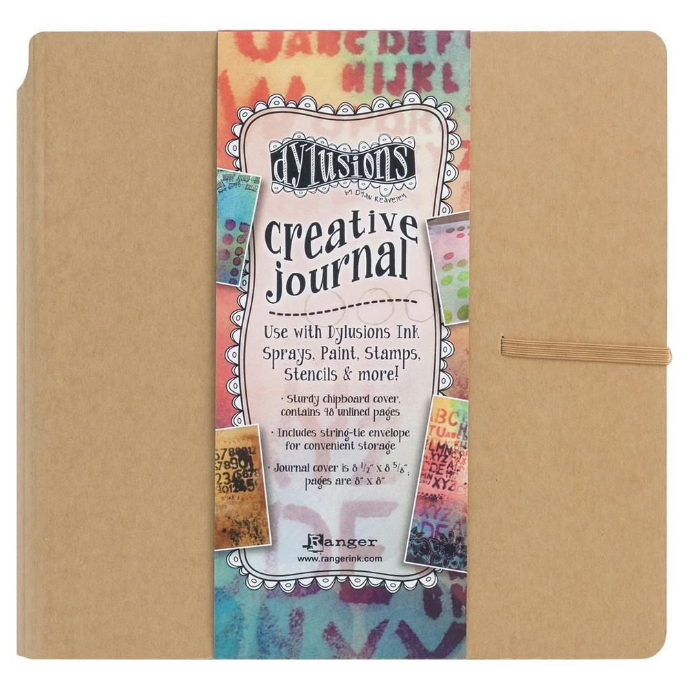Image of Dylusions Sketch Book - Basic Tan, Brown