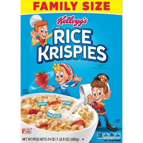 Rice Krispies Breakfast Cereal - 24oz - Kellogg's - image 1 of 7