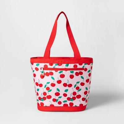 16qt Cooler Tote Red Cherries - Sun Squad™