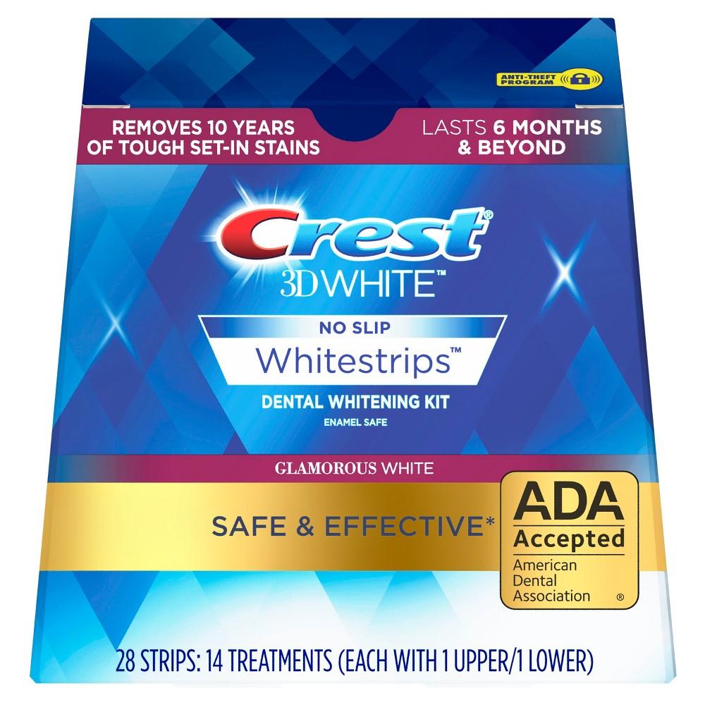 Crest 3D White Luxe Whitestrips Glamorous White Teeth Whitening Kit - 14 Treatments