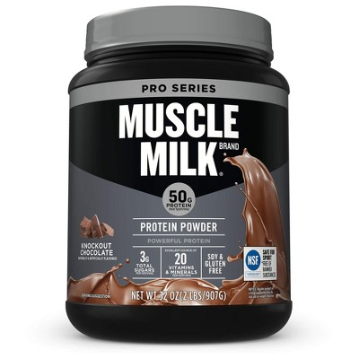 Protein & Meal Replacement: Muscle Milk Pro Series Protein Powder