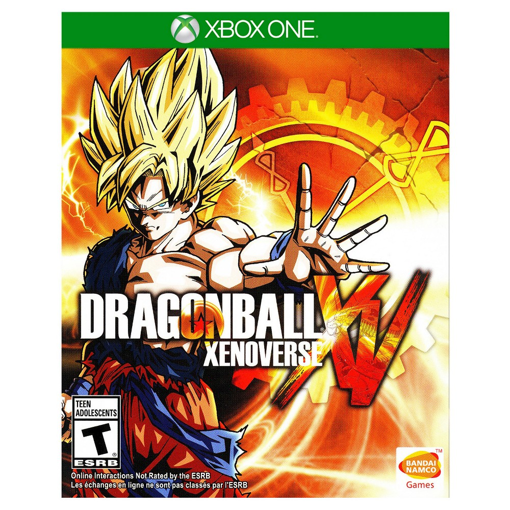 Dragon Ball Xenoverse XV Pre-Owned Xbox One Enter the Dragon Ball world and conquer the bad guys in Dragon Ball Xenoverse XV Pre-Owned (Xbox One). The game works for Xbox One consoles. The interactive video game provides hours of fun and is recommended for players 13 and older.
