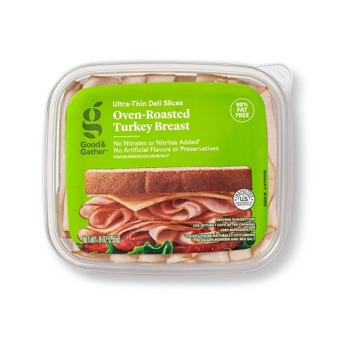 Oven Roasted Turkey Breast Ultra-Thin Deli Slices - 9oz - Good & Gather™ - image 1 of 3