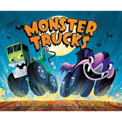 Monster Trucks - by  Anika Denise (Board Book)