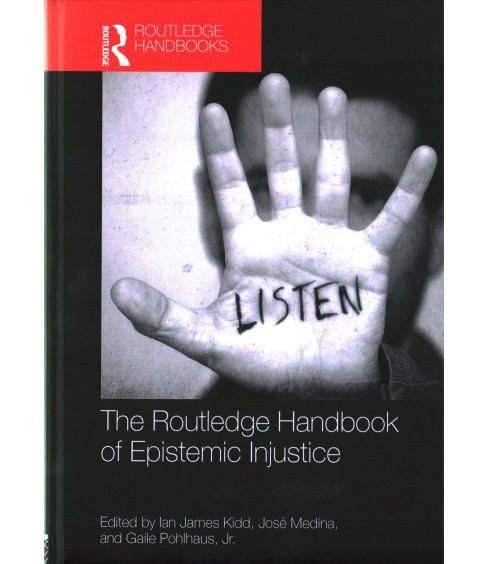 Routledge Handbook of Epistemic Injustice (Hardcover) - image 1 of 1