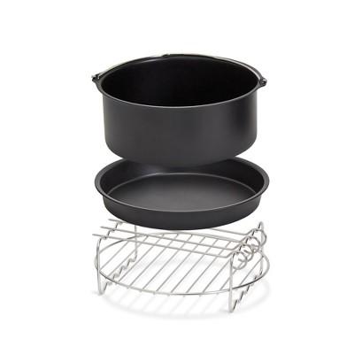 Dash Family Size 6qt Air Fry Accessories - Black