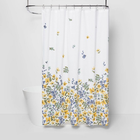 Floral Print Shower Curtain Gold Medal - Threshold™ - image 1 of 4