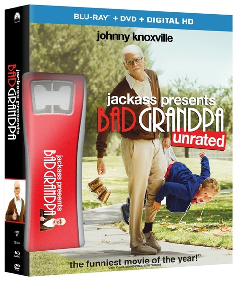 Jackass Presents: Bad Grandpa (Blu-ray/DVD) - Only at Target - image 1 of 1