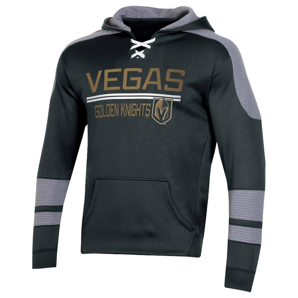 Nhl Vegas Golden Knights Men 39 S Edge Poly Textured Hoodie L
