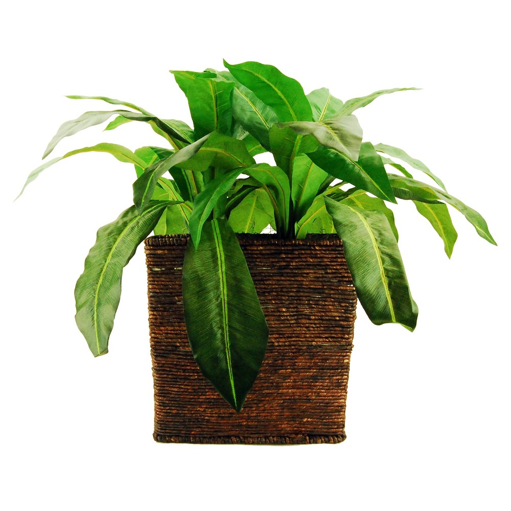 Image of Artificial Fern Plant Green 28 - Lcg Florals